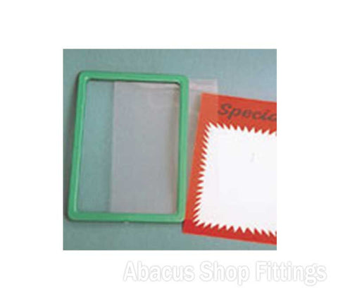 PVC PLASTIC COVER FOR A4 FRAMES