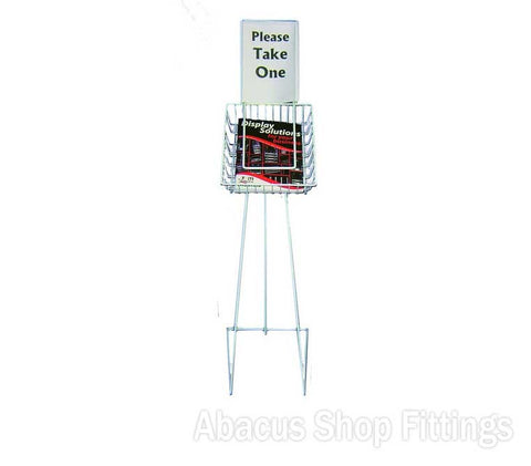 Wire Catalogue stand A4