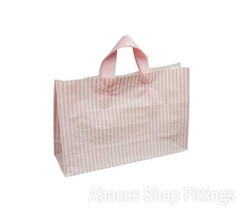 FLEXI LOOP PINK STRIPE LARGE Pkt/100
