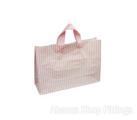 FLEXI LOOP PINK STRIPE SMALL Pkt/100