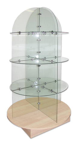 GLASS DOME DISPLAY UNIT