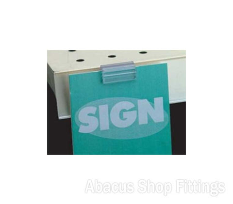 SHELF TALKER SIGN HOLDER (20)