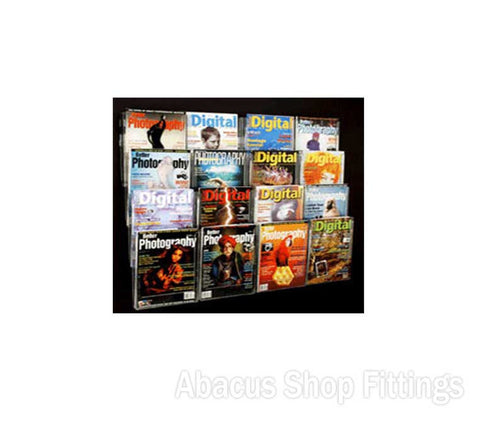 BROCHURE WALL DISPLAY - 16 A4 HOLDERS