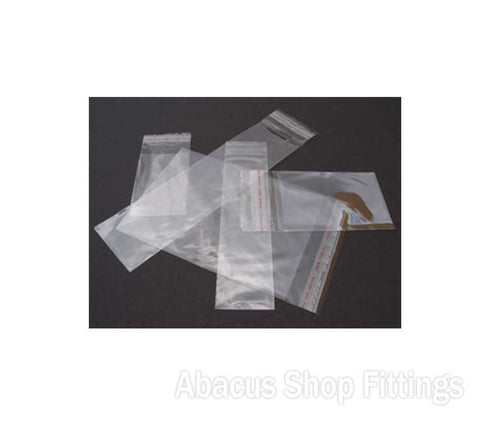 CELLOPHANE BAG 125MM X 250MM Pkt/100