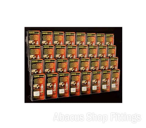 BROCHURE WALL DISPLAY - 32 DL HOLDERS