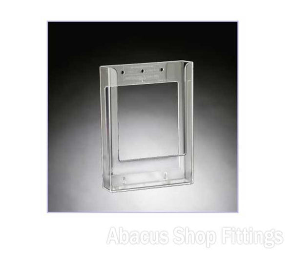 BROCHURE HOLDER FLATBACK - A5 SIZE