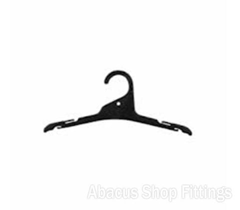 SHIRT HANGER BLACK - L19(CARTON/200)