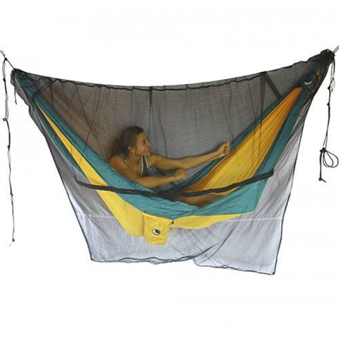 Ticket to the moon Mosquito Net - Black