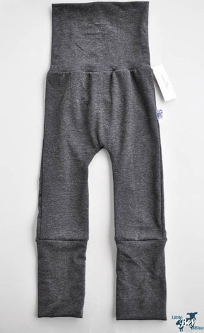 Charcoal Grey Charlee Pants Front View