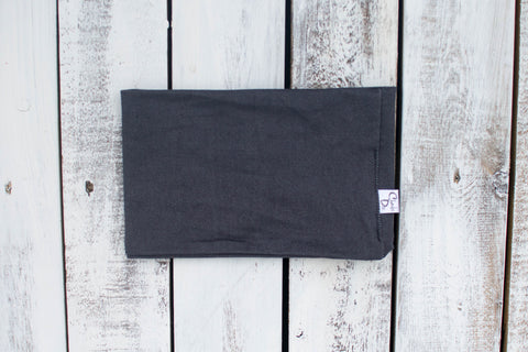Charcoal Denim Cowl