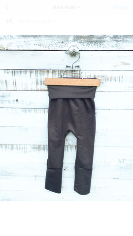 Grey Jegging Harem Pants