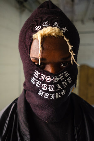 H E I R S x Carhartt 'Born to RUN' Face Mask