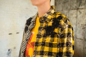 H E I R S 'Lovers & Drifters' Multi Panel Flannel