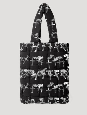 Le GRAND HEIRS 'Carpenter Camo' Oversized Woven Tote