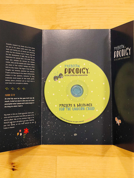 Preborn Prodigy - Worship, Prayers & Declarations CD