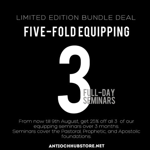 LIMITED EDITION: Five-Fold Seminar Bundle Deal (closes August 25th)