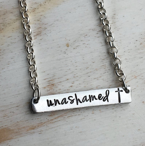 Customisable Bar Necklace