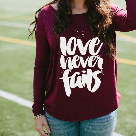 Love Flowy Long-Sleeve