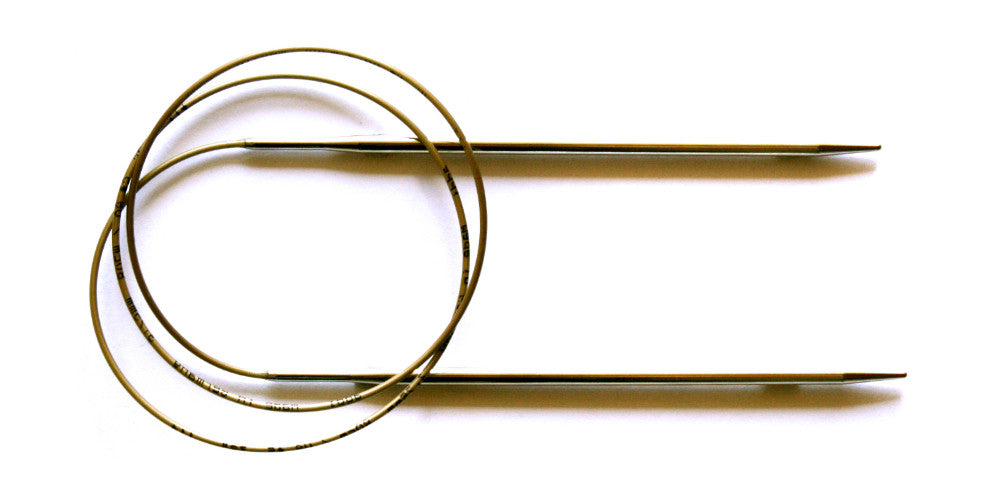 Addi Turbo Metal Circular Needles - 30cm