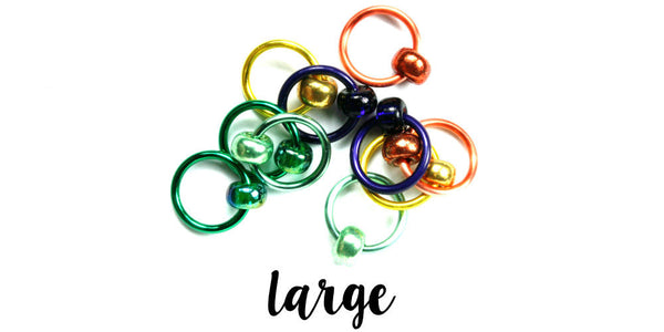 Gems Stitch Markers - LARGE