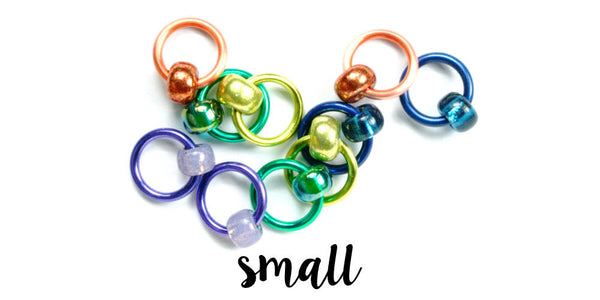Gems Stitch Markers - SMALL