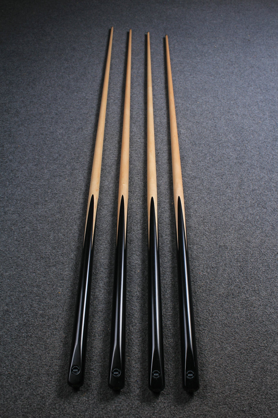 1 piece handmade maple snooker/ pool cue -  variant length