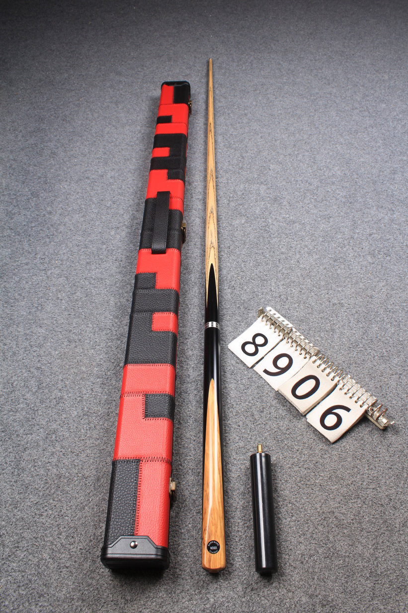 3/4 HANDMADE ASH 8 BALL POOL CUE 8906