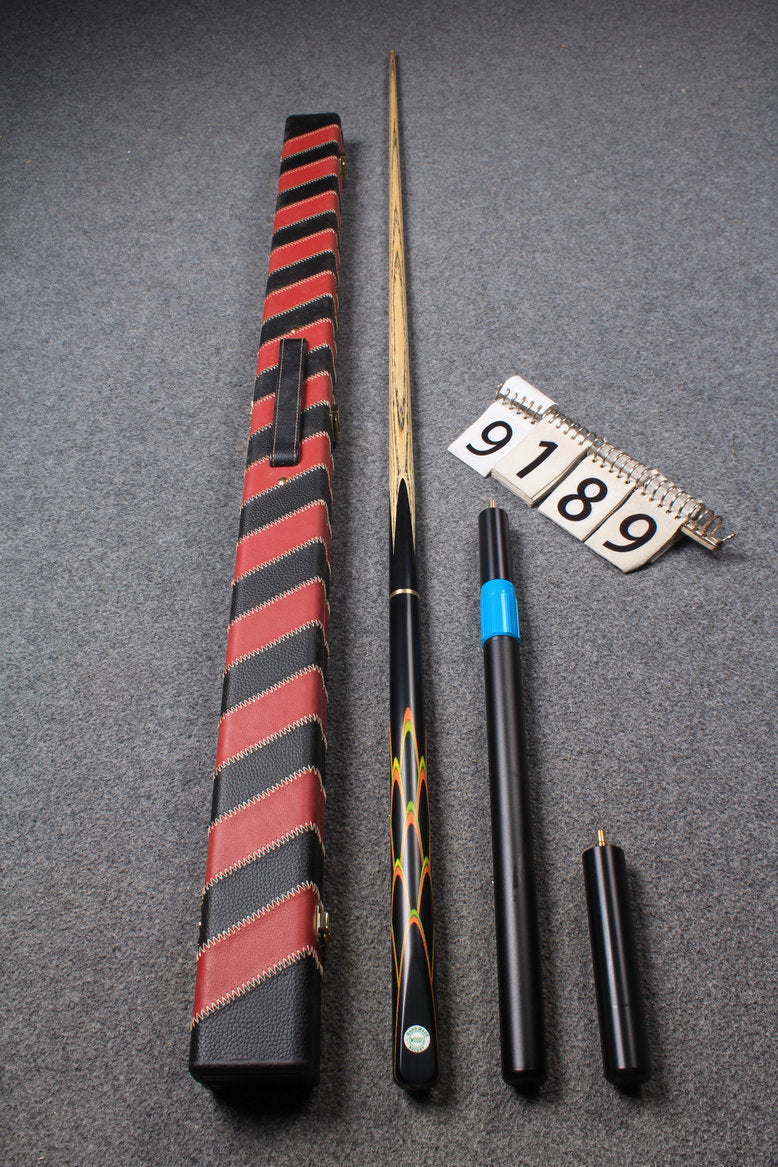 "3/4 HANDMADE ASH 58"" 8 BALL POOL CUE 9189"