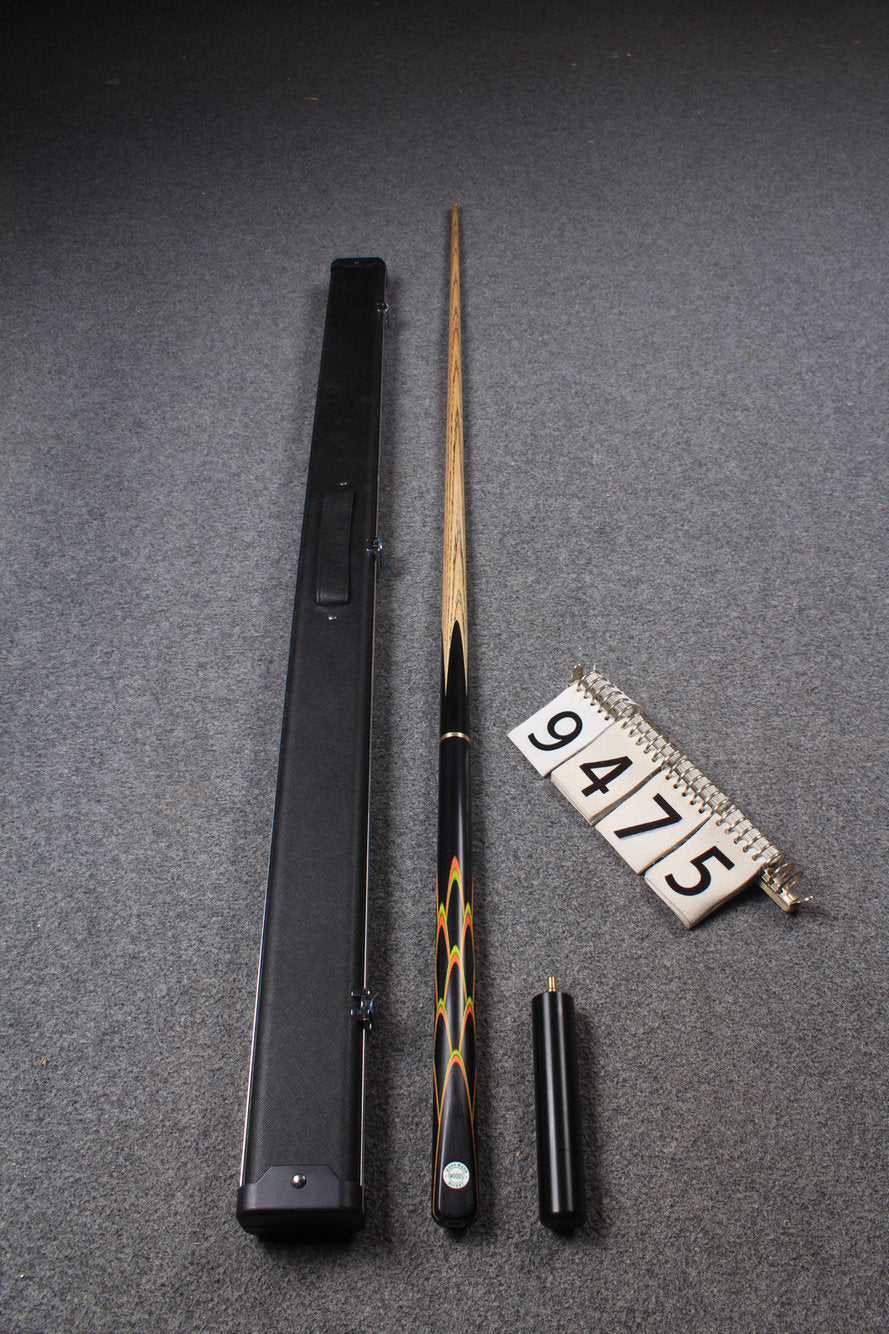"3/4 HANDMADE ASH 57"" 8 BALL POOL CUE 9475"
