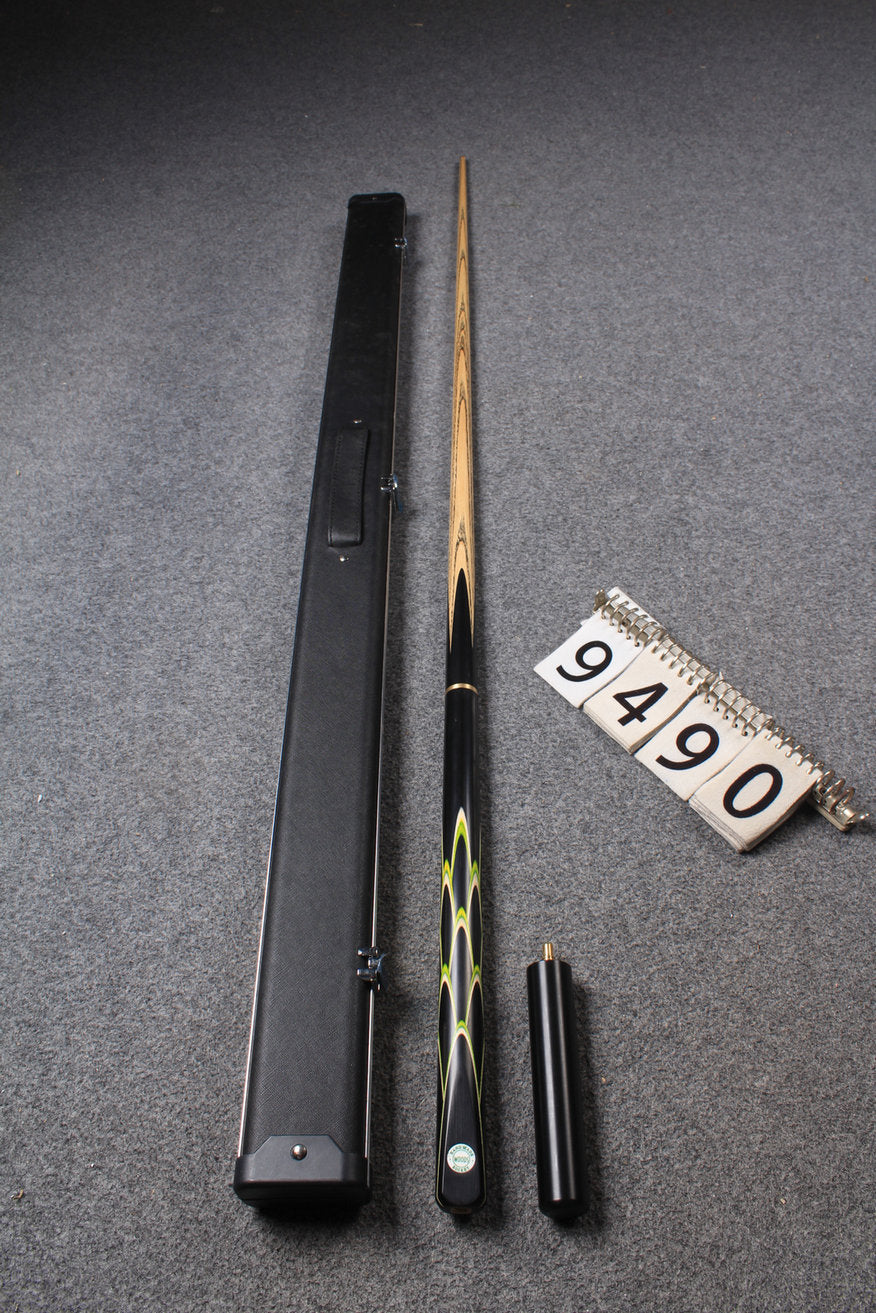 "3/4 HANDMADE ASH 55"" 8 BALL POOL CUE 9490"