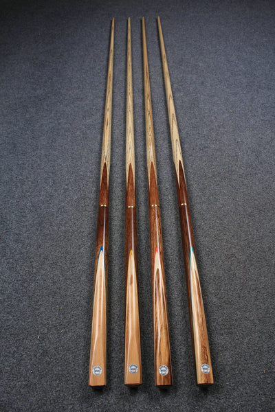 4 x 3/4 jointed 10 mm JOINT ASH SNOOKER / POOL CLUB CUES