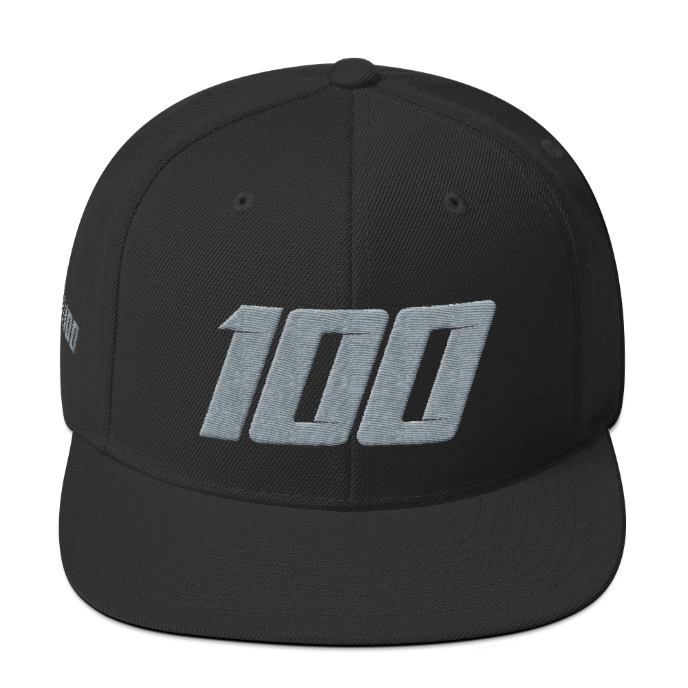 Team 100 Snapback (Blk/Grey)