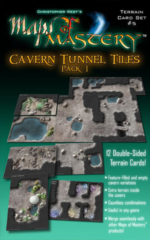 Cavern Tunnel Tiles, Pack 1
