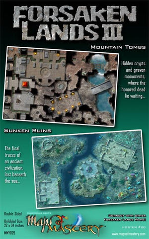 Forsaken Lands III: Mountain Tombs and Sunken Ruins