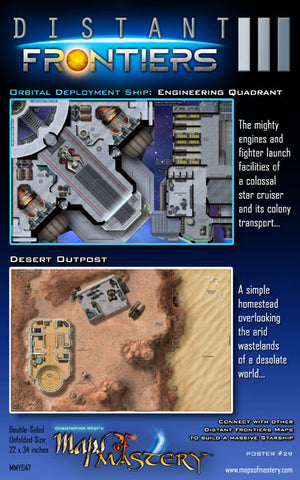 Distant Frontiers III: Engineering Quadrant and Desert Outpost