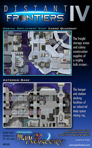 Distant Frontiers IV: Cargo Quadrant and Asteroid Base