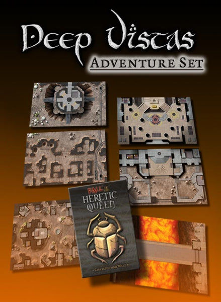 Fall of the Heretic Queen Adventure Set