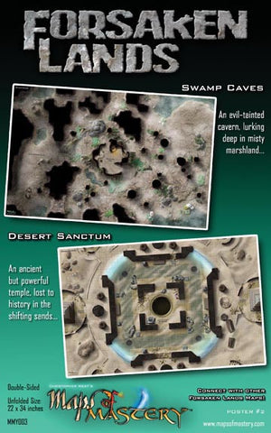 Forsaken Lands I: Swamp Caves and Desert Sanctum