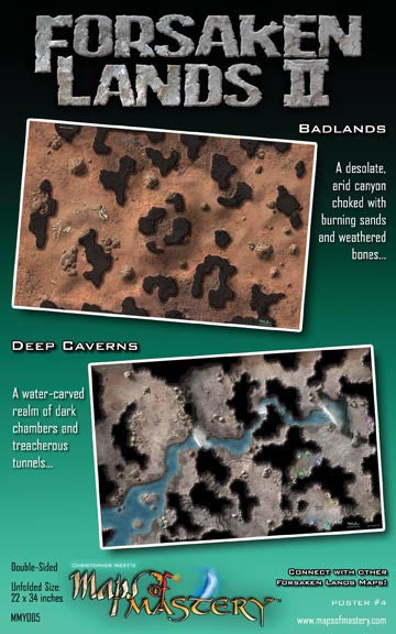 Forsaken Lands II: Badlands and Deep Caverns