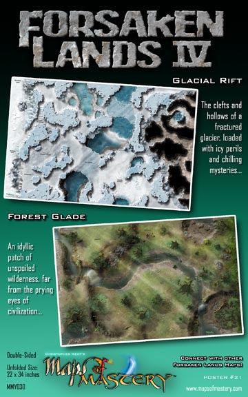 Forsaken Lands IV: Glacial Rift and Forest Glade
