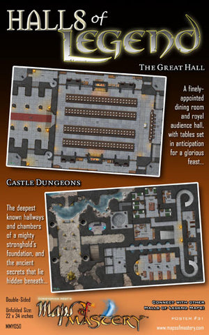 Halls of Legend I: The Great Hall and Castle Dungeons