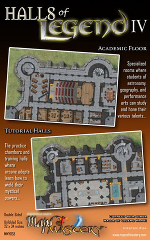 Halls of Legend IV: Academic Floor and Tutorial Halls