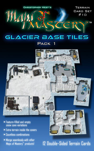 Glacier Base Tiles, Pack 1