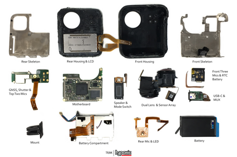 GOPRO MAX Teardown