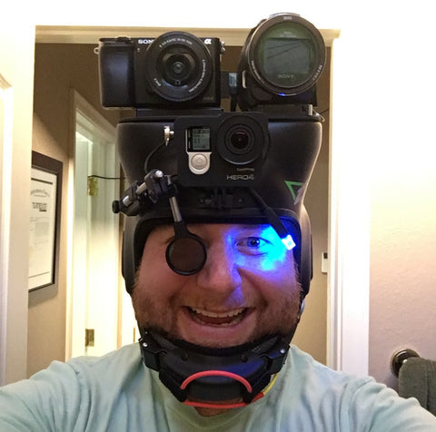 Skydiving Camera Helmet Build