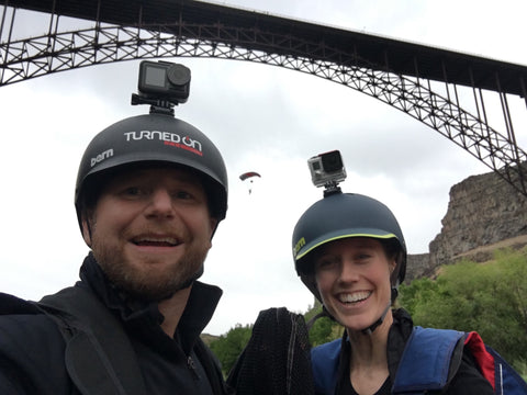Trunk Tests out the DJI OSMO Action BASE Jumping