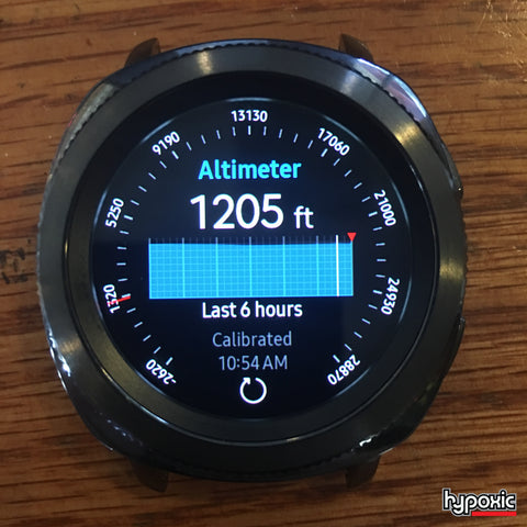 Gear Sport Altimeter for skydiving