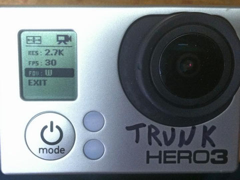 Setting up the GOPRO HD HERO3 Black for Skydiving – HYPOXIC