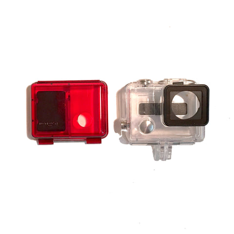Turned On - GoPro HERO4 / GoPro HERO3+ Replacement Back