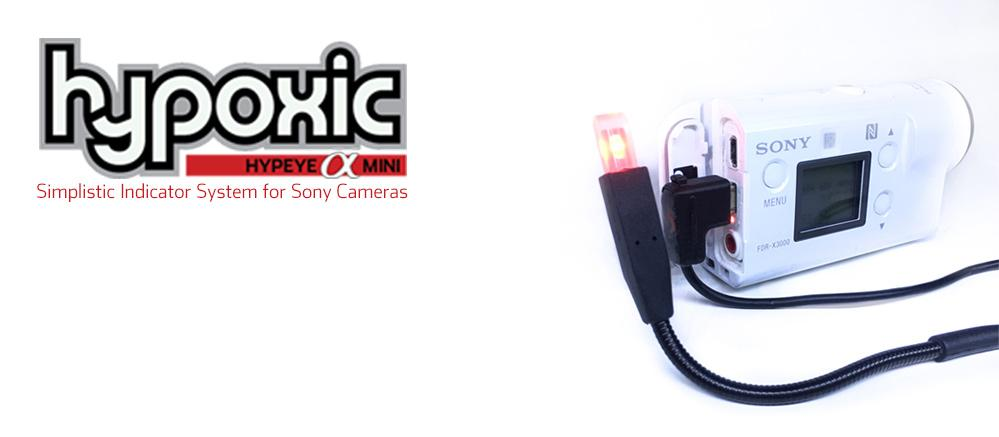 Tally Light for Sony Action Cams